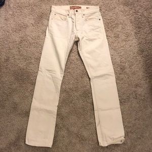 Lucky Brand ivory jeans